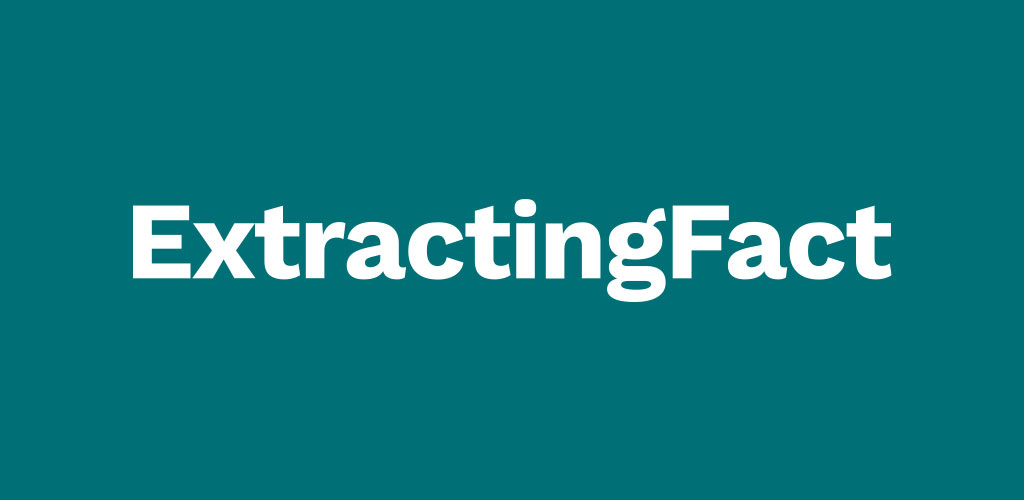 Extracting Fact logo.